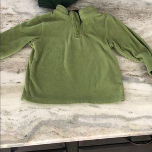 Green fleece to 24 months